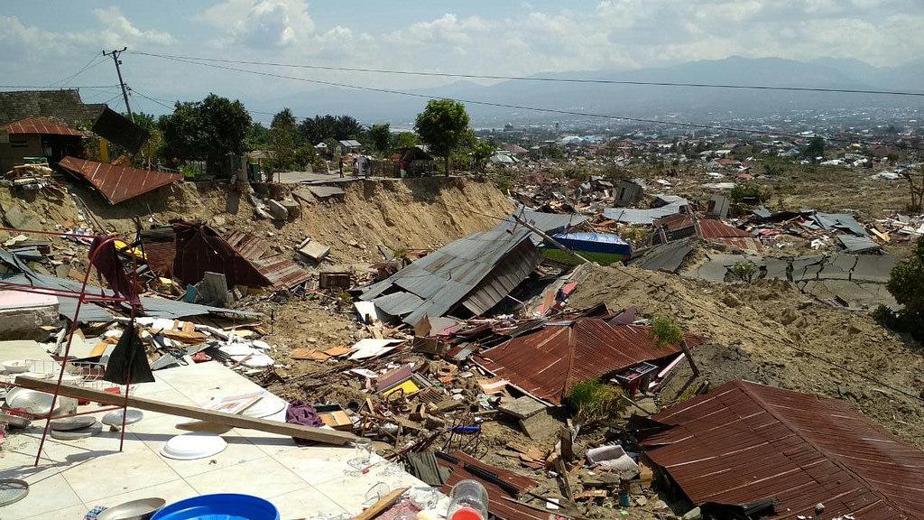 Pomoć za žrtve tsunamija u Indoneziji