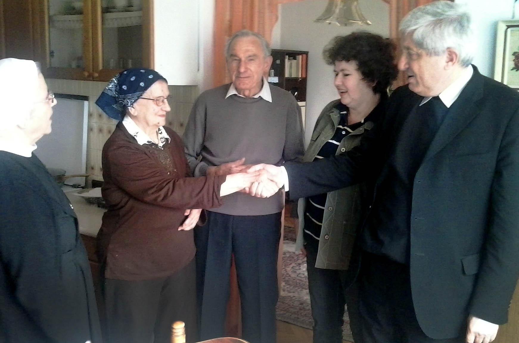Marija i Josip, dobrotvori Caritasa