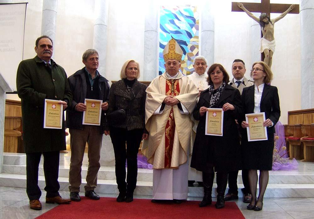 Zahvalnice dobrotvorima Caritasa