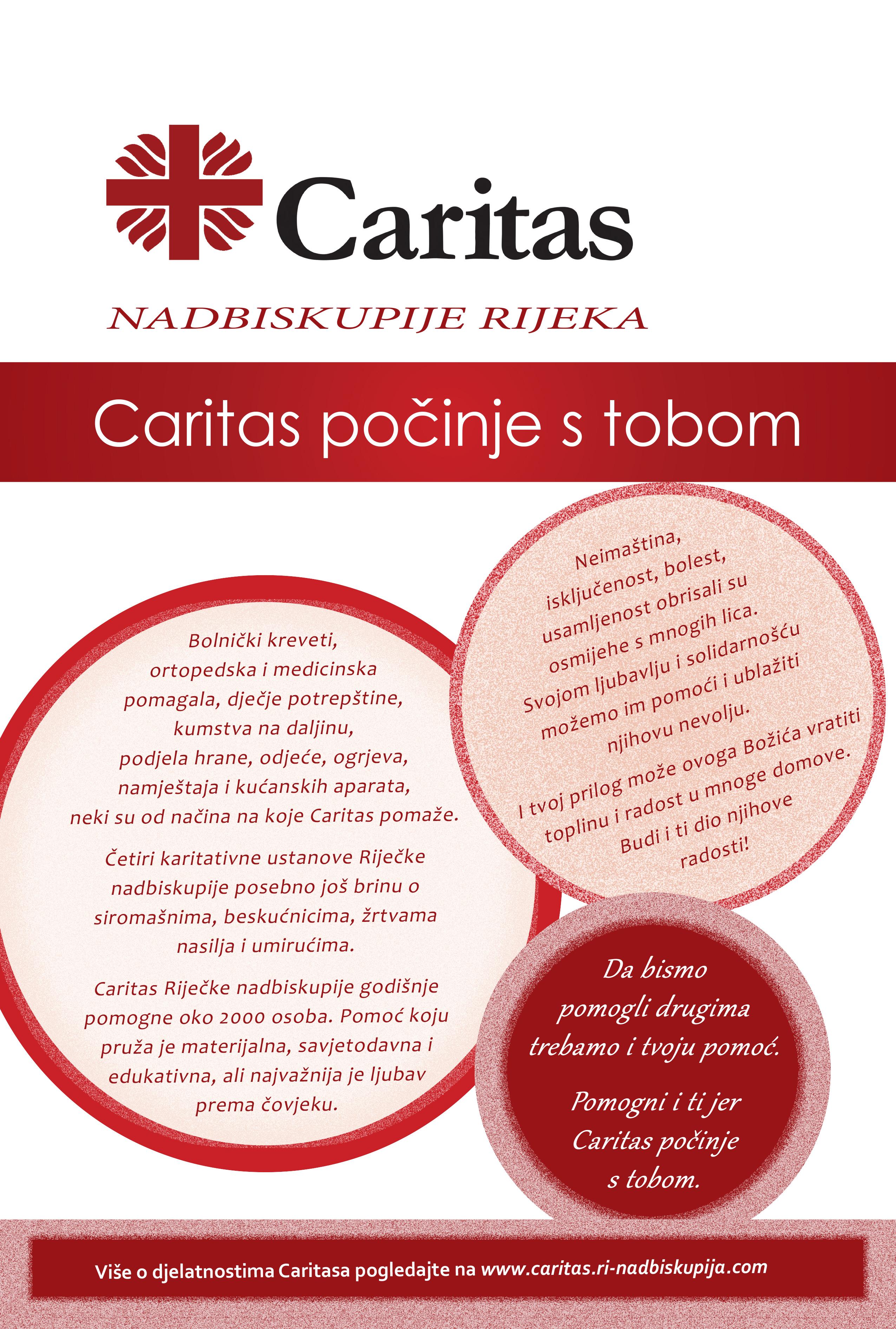 Caritasove akcije u došašću