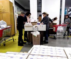 Volonteri PBZ-a pripremali božićne pakete
